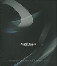 Harman/Kardon Katalog Prospekt  2008-2009 HD 950 970 HK HKTS DVD HS AVR