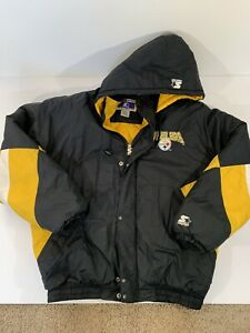 Pittsburgh Steelers NFL Starter Jacket - Mens Sz. XL - Classic Teams Collection