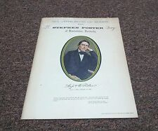 STEPHEN FOSTER STORY Pamphlet, American Performing arts  1973 season 15th