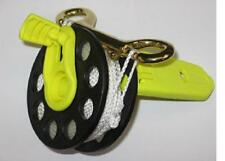 Finger reel with fold down handles, 30metres of yellow line. Red Hat Diving.