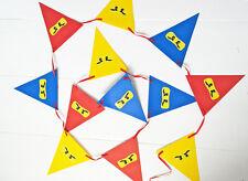 Lego NINJAGO Birthday Party Bunting / Banner / Decoration / Garland - NEW