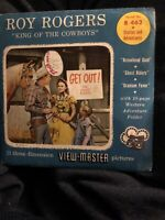 Sawyers View-Master Reels, NEVER OPENED B462, ROY ROGERS, KING OF COWBOYS 1956