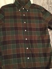 Beams Plus flannel button down shirt from Japan, Small - Momotaro Iron Heart