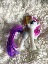 My Little Pony Rarity 2014 McDonalds Happy Meal Toy Mini Figure