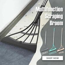 Wiper Scraper Mop Dust Hair Floor Rubber Cleaning Tool Multifunction Magic Broom