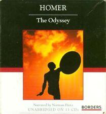 CD Audio Book ODYSSEY Homer Ancient Greece Odysseus Bronze Age Mycenaea Aegean