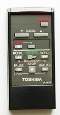 * W-TELECOMANDO ORIGINALE TOSHIBA vc-83g per Video Recorder