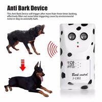 Ultrasonic Stop Control Dog Anti Barking No Bark Silencer Hanger Training Device