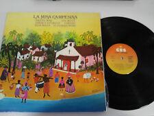 "LA MISA CAMPESINA MIGUEL BOSE LP VINILO VINYL 12"" 1979 VG/VG SPANISH EDITION &"