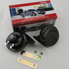 Attractive Dual-Tone Snail Universal Electric Horn 12V 110 DB Car Truck Auto