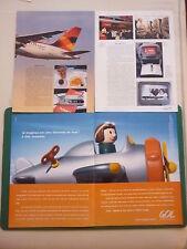 11/10 PUB GOL LINHAS AEREAS BRAZIL AVION PLAYMOBIL / AVIANCA A319 PORTUGUESE AD