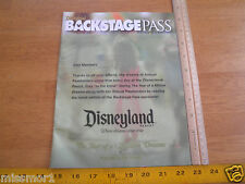 Disneyland Backstage Pass magazine Winter 2007