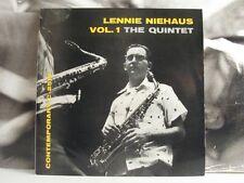 """LENNIE NIEHAUS THE QUINTET VOL. 1 10"""" G/EX DG CONTEMPORARY C-2513 ITALIAN PRESS"""