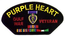 Military Patches Purple Heart - Gulf War Veteran Embroidered  ( EEP-V22)