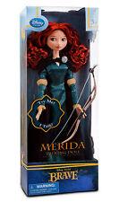 "NEW Disney Store Exclusive 17"" Brave Princess Singing Merida Doll Bow & Arrow"