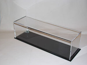 acrylic perspex  model display case 380 x 110 x 110   train lorry bus