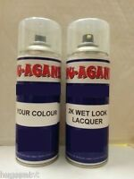 400ML Car Paint Aerosol Mix From Car Code Custom Car Spray Paint+ FREE LACQUER