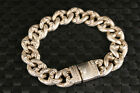 Collection chinese Asian tibet miao silver cool  statue fashion bracelet
