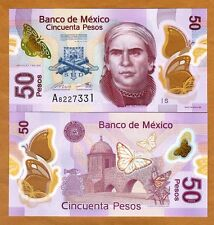 Mexico, 50 Pesos, 2015 (2016), POLYMER, P-123-New, New Sign. UNC