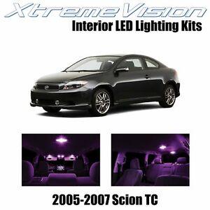 XtremeVision Interior LED for Scion TC 2005-2007 (10 PCS) Pink