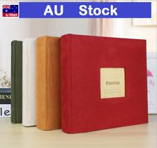 200/300 Photo 6 inch Album Photos Memo Case Storage Family Baby Wedding Gifts AU