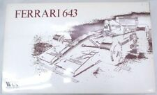 Vintage ROSSO 1/8 FERRARI 643 KIT ALESI PROST F1 1991 NIB