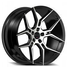 "22"" Giovanna Wheels Haleb Black Machined Rims FS 5-120 for range rover"
