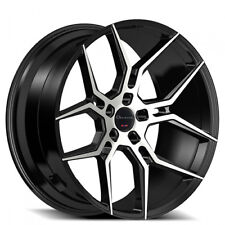 "22"" Giovanna Wheels Haleb Black Machined Rims FS 5-120 for range rover"