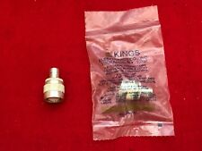 KINGS BNC Female to C Male Ludlum UG-636A/U RF connector adapter Collins R-390A