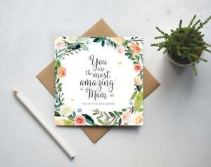 Card for Mum, Birthday card for Mum, Best Mum, Mothers Day card (GC159B) UK