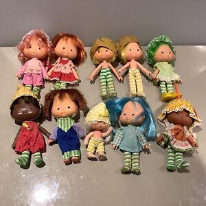 Strawberry Shortcake Kenner Vintage Doll Bundle X10