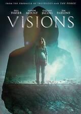Visions (DVD, 2016) - Isla Fisher - Jim Parsons - Anson Mount