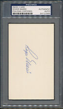 Roger Maris Signed Index Card PSA/DNA Certified Authentic Auto Autograph *3988