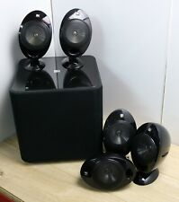 KEF Kube 2 Subwoofer + 5 x Speakers (5.1) SP3631 Home Theatre 2000 Series