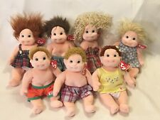 Ty Beanie Kids Gear Baby Doll Plush Lot of 7