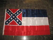 3x5 Mississippi Nylon 210D Printed Flag 3'x5' Banner Grommets