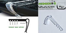 Hedgehog Gutter Brush Clips Clear Fits All Sizes Gutter Brush Quantity Option