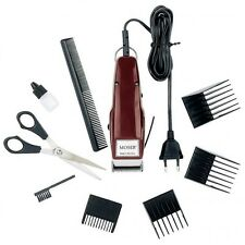 Moser 1400 Professional Corded Hair Clipper Edition With 4 Comb + Scissors