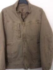 Next Light Brown Lined Bomber Style Jacket, Size XL