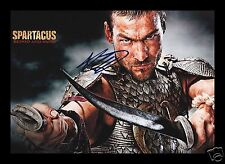 ANDY WHITFIELD - SPARTACUS AUTOGRAPHED SIGNED AND FRAMED PP PHOTO POSTER