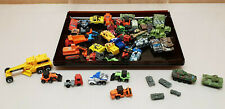 Toy Bundle 47 Small Miniature Micro other Vehicle Site Military Char ref11