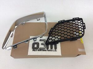 2009-2010 Pontiac G6 Front LH Driver Side Outer Grille Bezel and Insert new OEM