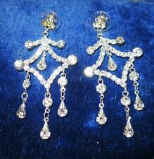 Cubic Zirconia Silver Plated Fashion Earrings