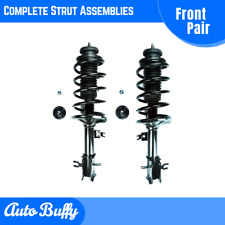 Front Pair Quick Complete Struts & Coil Springs for 2004-2012 Chevrolet Aveo NEW