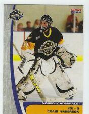 Craig Anderson 2003-04 Norfolk Admirals (AHL)