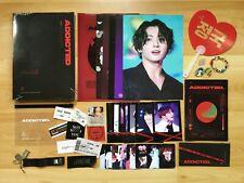 방탄소년단 BTS Fansite Official JUNGKOOK Photobook Poster A4 File Fan Phone Strap
