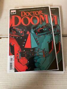 DOCTOR DOOM (2019 Marvel ) #1 NM- 1st Print Fantastic Four Iron Man 🔥🔥