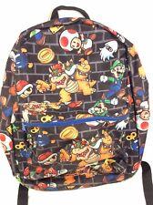 Super Mario Brothers Bros. 16 Inch Backpack Nintendo