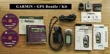 Bundle: Garmin eTrex Vista Gps Receiver + Bike Mount + Case + U.S. Map Software