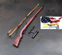 1/6 Ti-Lite T8007 Arisaka Type 38 Rifle Metal WWII Japan Soldier Weapon ❶❶USA❶❶